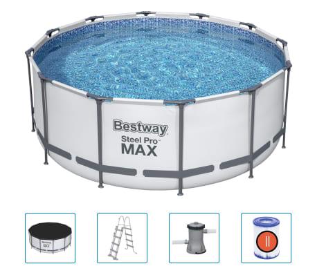 Bestway Steel Pro MAX Zwembadset rond 366x122 cm