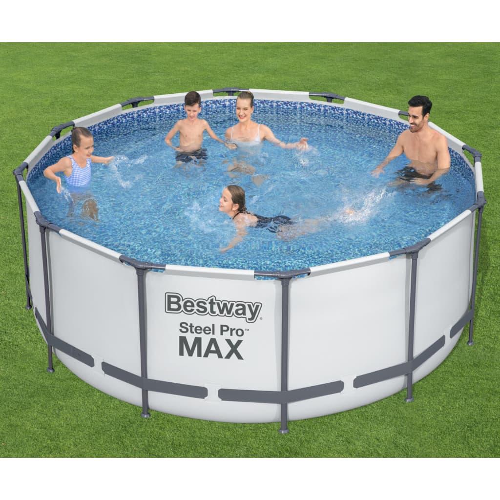 Bestway Bazénový set Steel Pro MAX kruhový 366 x 122 cm