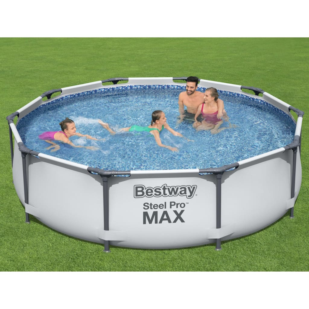 Bestway Set de piscină Steel Pro MAX, 305 x 76 cm vidaxl.ro