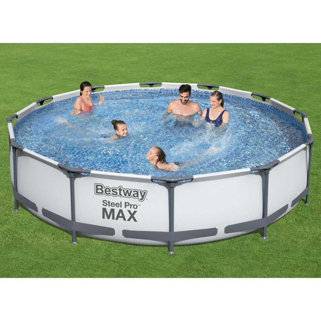 Bestway Bazénový set Steel Pro MAX 366 x 76 cm
