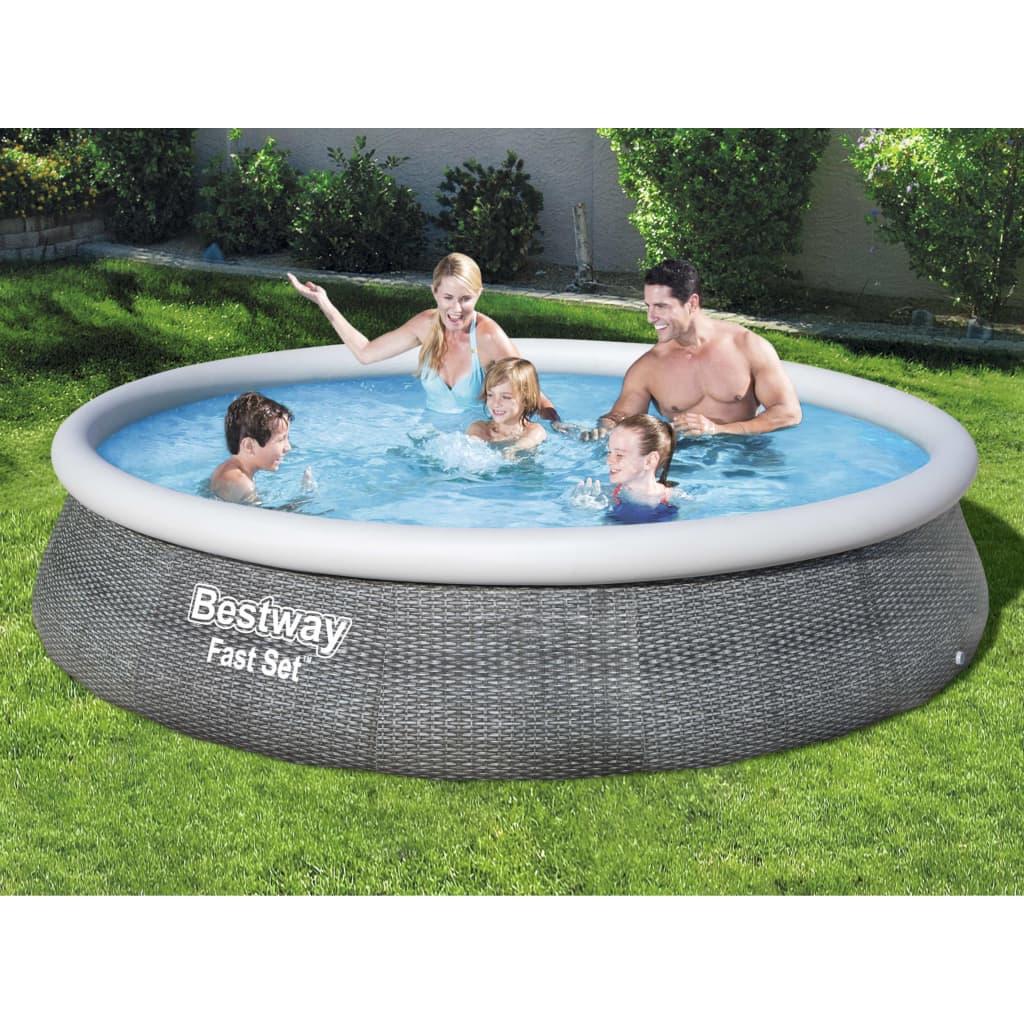 Bestway Fast Set Nafukovací bazénový set s čerpadlem 396 x 84 cm
