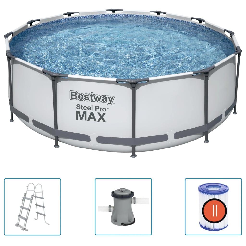 Bestway Bazénový set Steel Pro MAX 366 x 100 cm