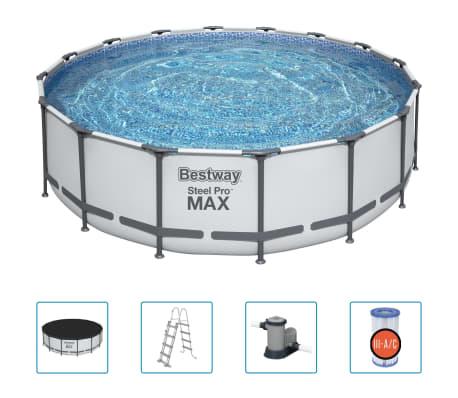Bestway Poolset Steel Pro MAX 488 x 122 cm