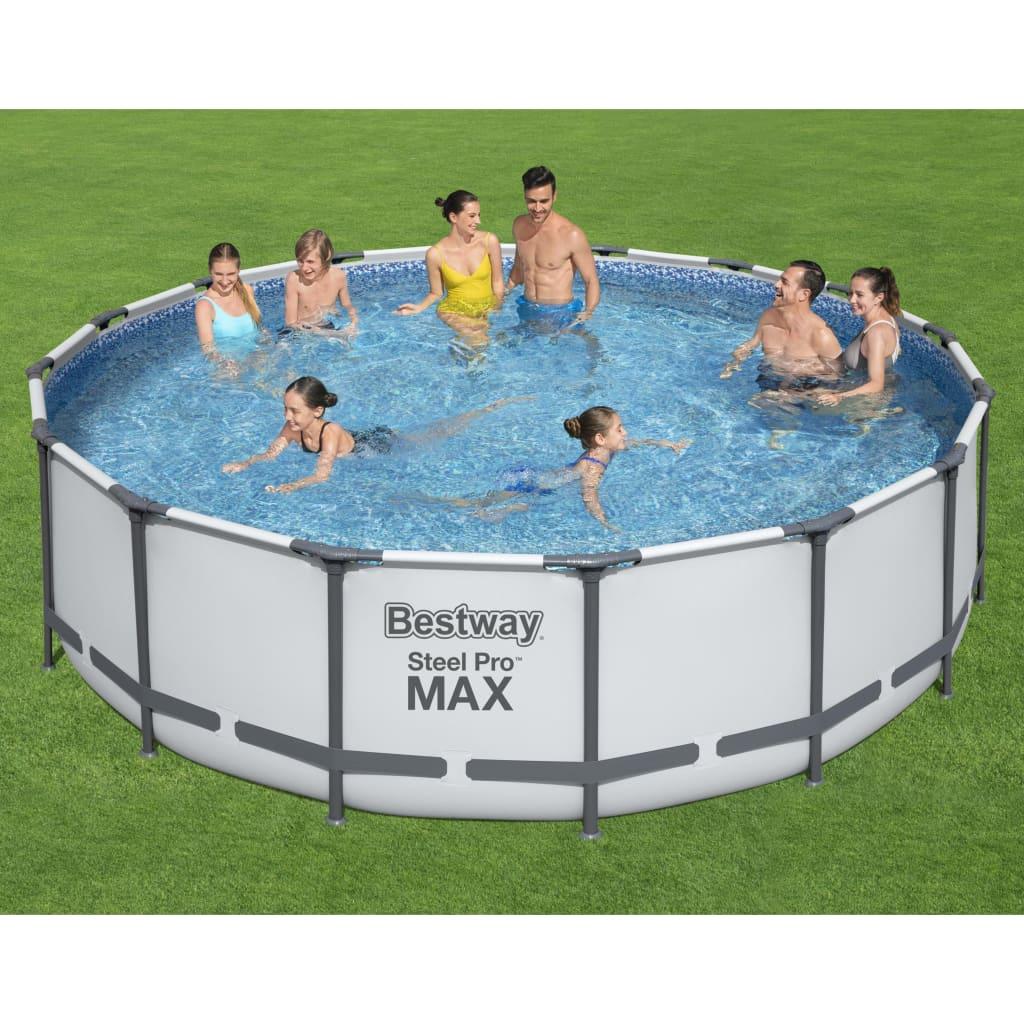 Bestway Bazénový set Steel Pro MAX 488 x 122 cm