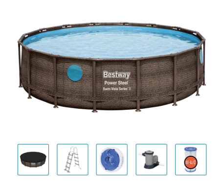 Bestway Poolset Power Steel 488x122 cm