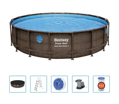 Bestway Poolset Power Steel 549x122 cm