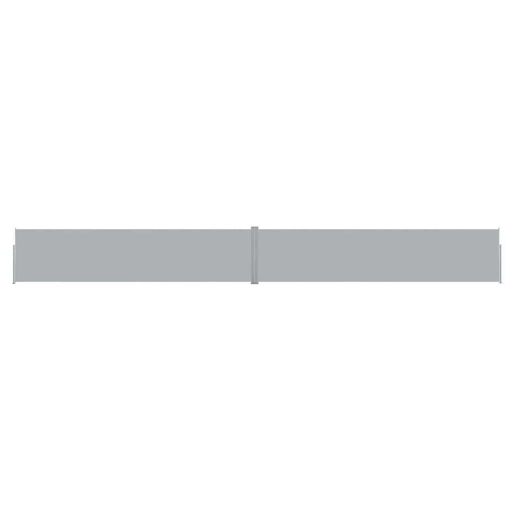 vidaXL Copertină laterală retractabilă de terasă antracit 170x1200 cm vidaxl.ro