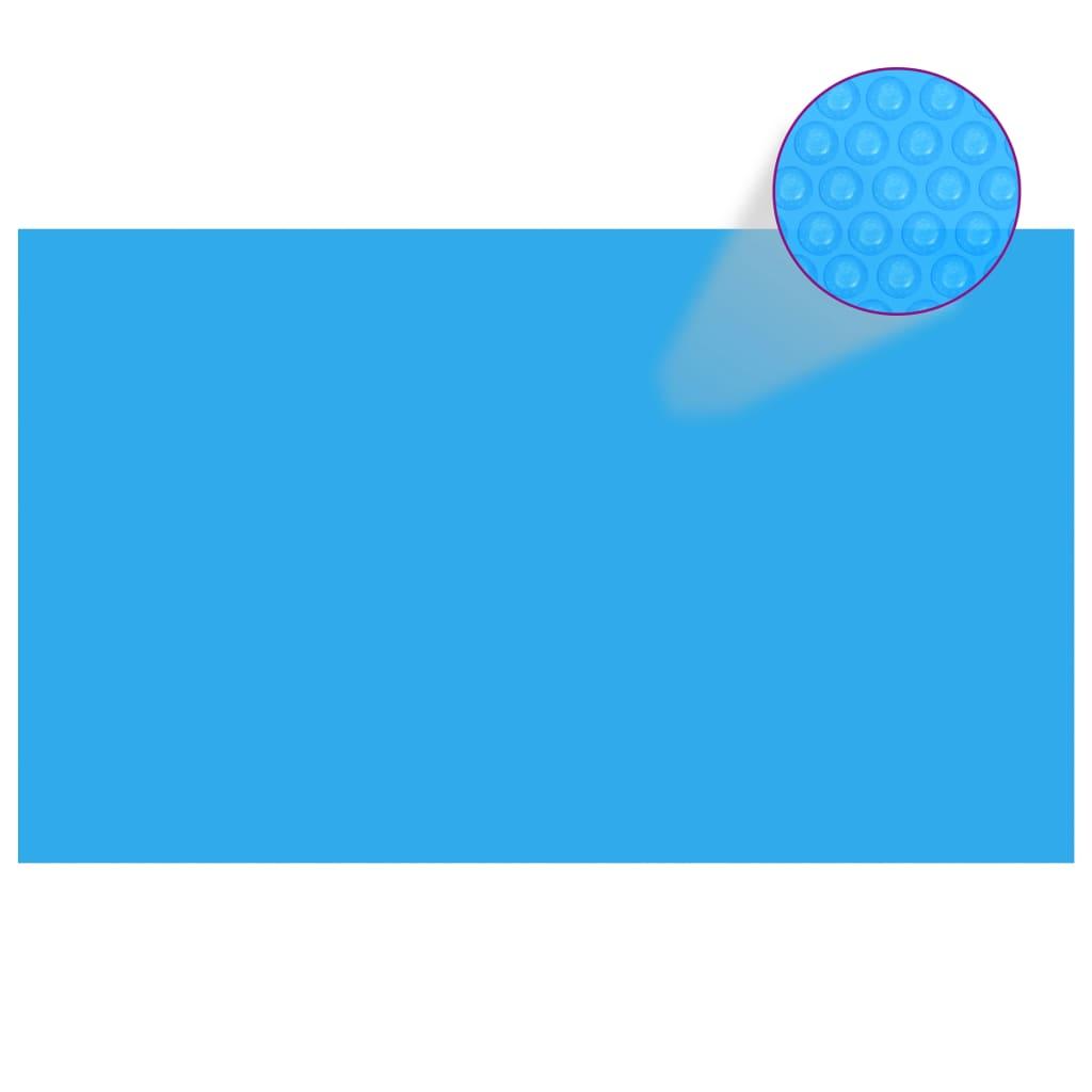 vidaXL Prelată de piscină, albastru, dreptunghiular, 500 x 300 cm, PE imagine vidaxl.ro