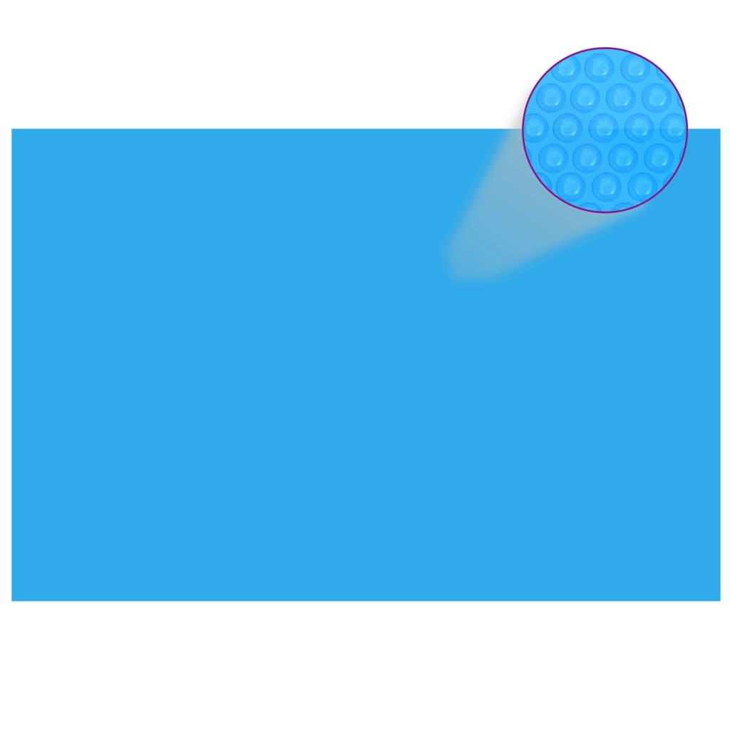 vidaXL Prelată de piscină, albastru, dreptunghiular, 600 x 400 cm, PE imagine vidaxl.ro
