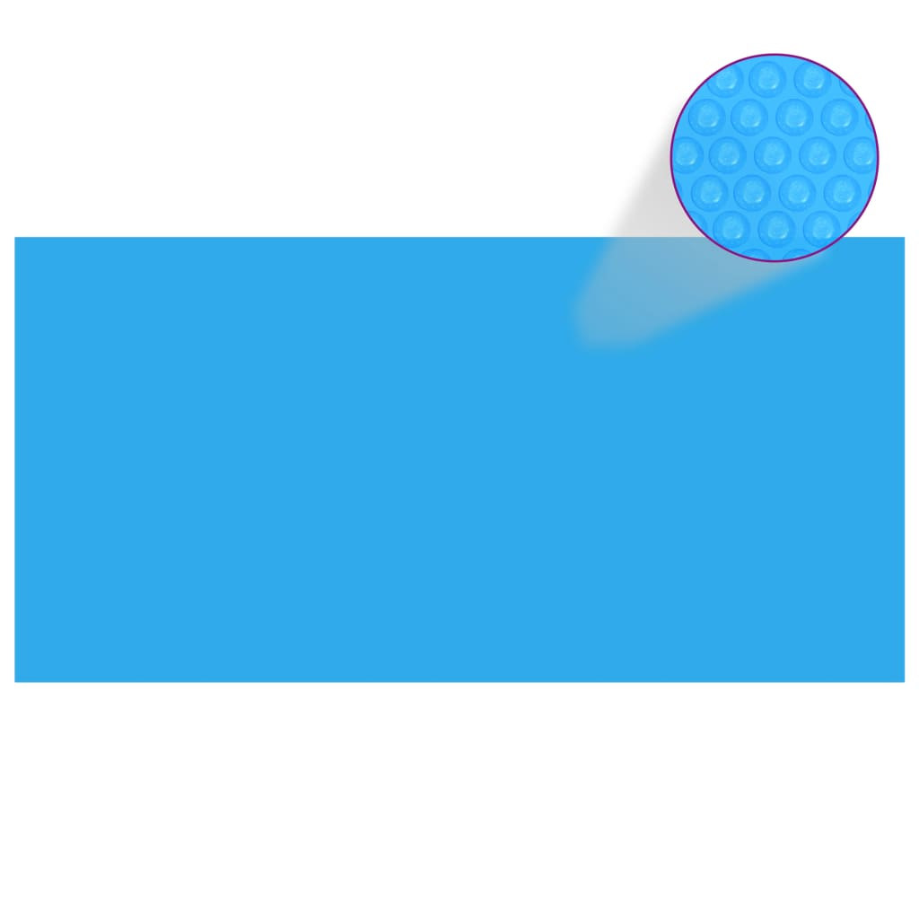vidaXL Prelată piscină, albastru, 1200 x 600 cm, PE, dreptunghiular vidaxl.ro