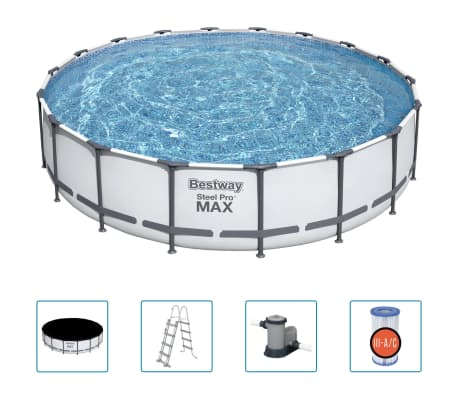 Bestway Steel Pro MAX Swimming Pool Set 549x122 cm