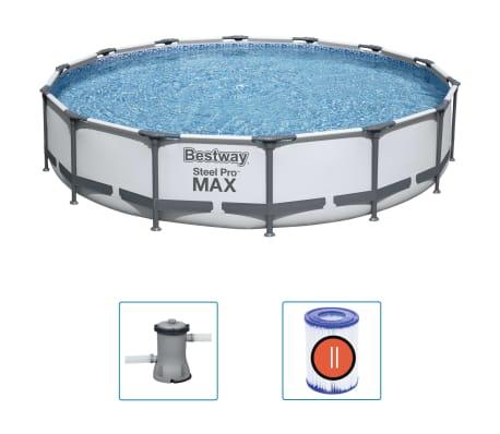 Bestway Basen Steel Pro MAX z akcesoriami, 427x84 cm