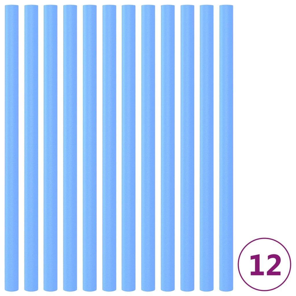 Pěnová ochrana na trampolínové tyče 12 ks 92,5 cm modrá