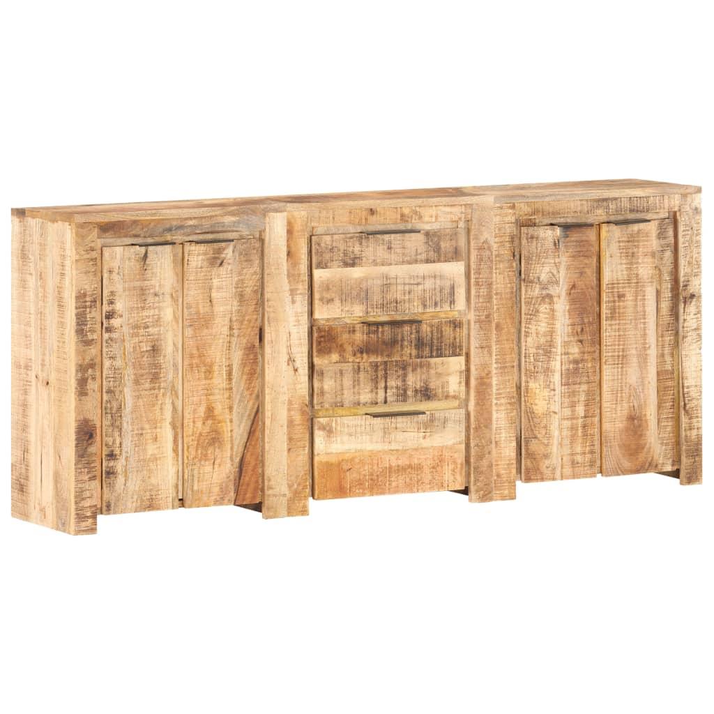 vidaXL Servantă cu 3 sertare și 4 uși, lemn masiv de mango vidaxl.ro