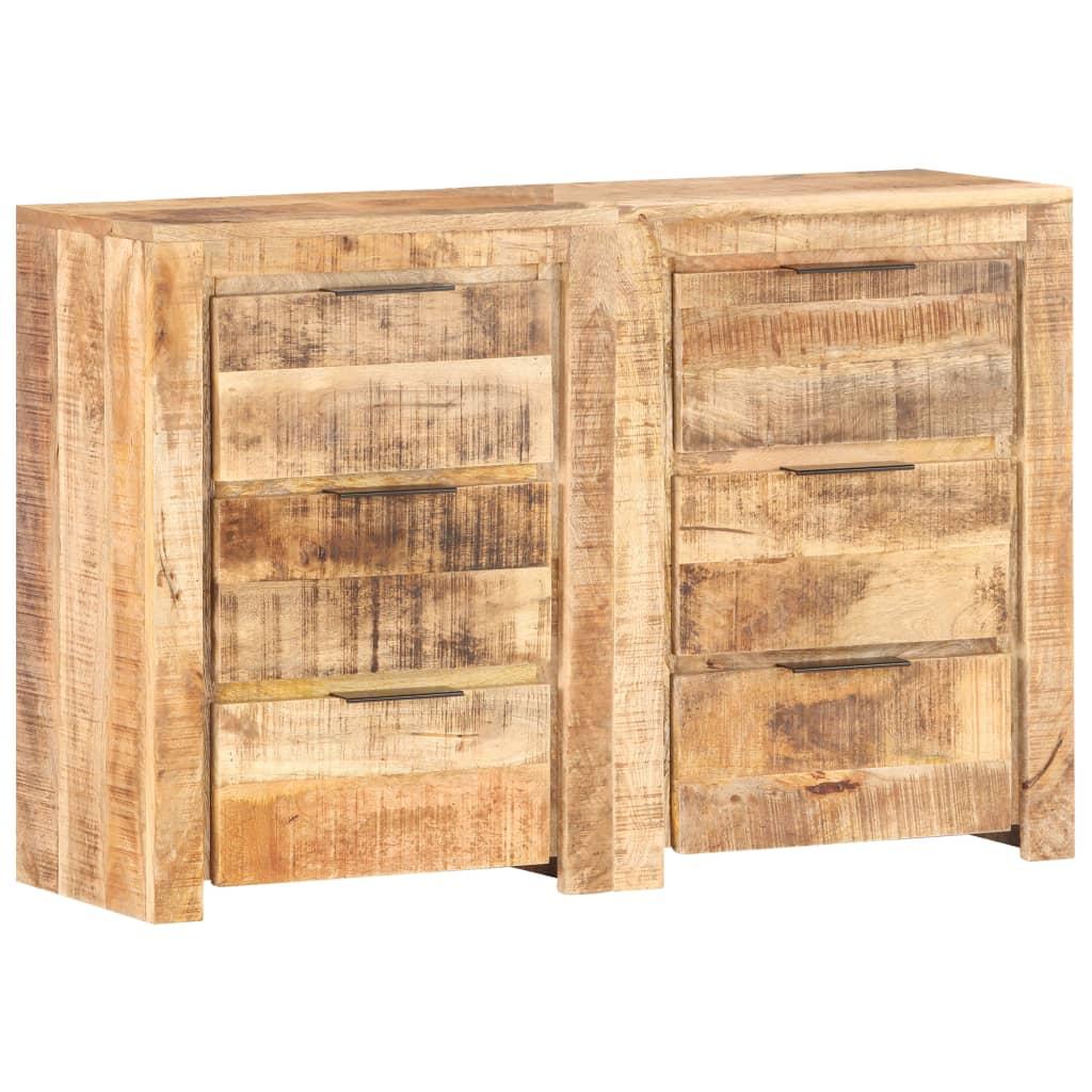 vidaXL Dulap cu sertare, 118 x 33 x 75 cm, lemn masiv de mango vidaxl.ro