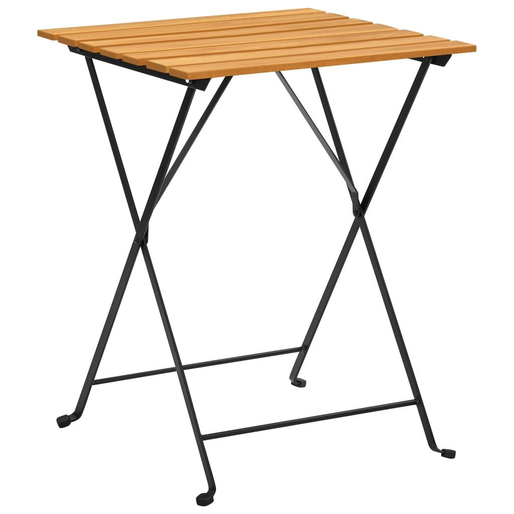 Bistro stolek 55 x 54 x 71 cm masivní akáciové dřevo