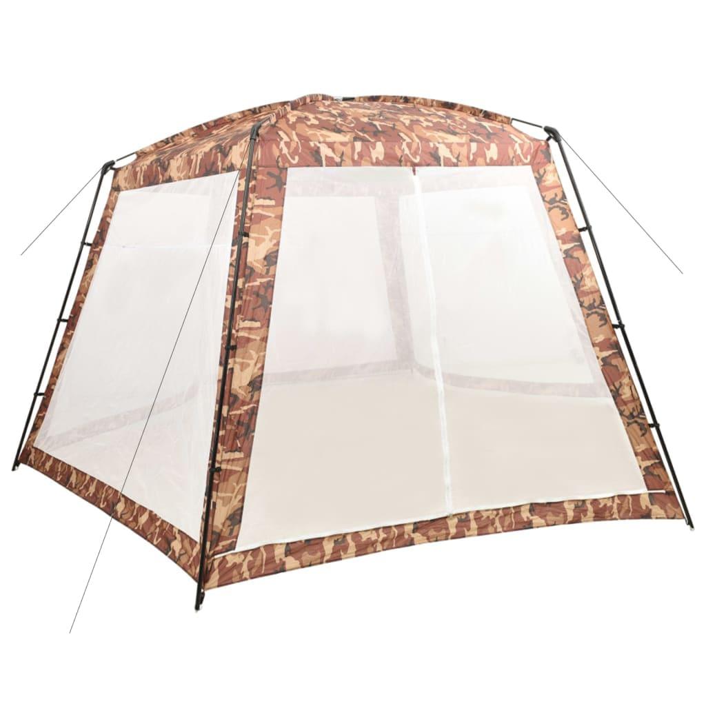 vidaXL Šator za bazen od tkanine 590 x 520 x 250 cm maskirne boje
