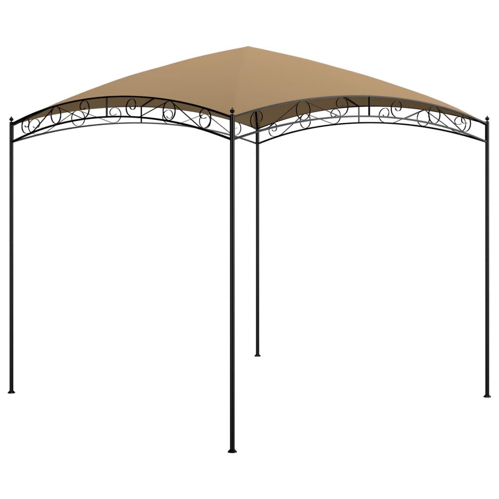 Prieel 180 g/m² 3x3x2,65 m taupe