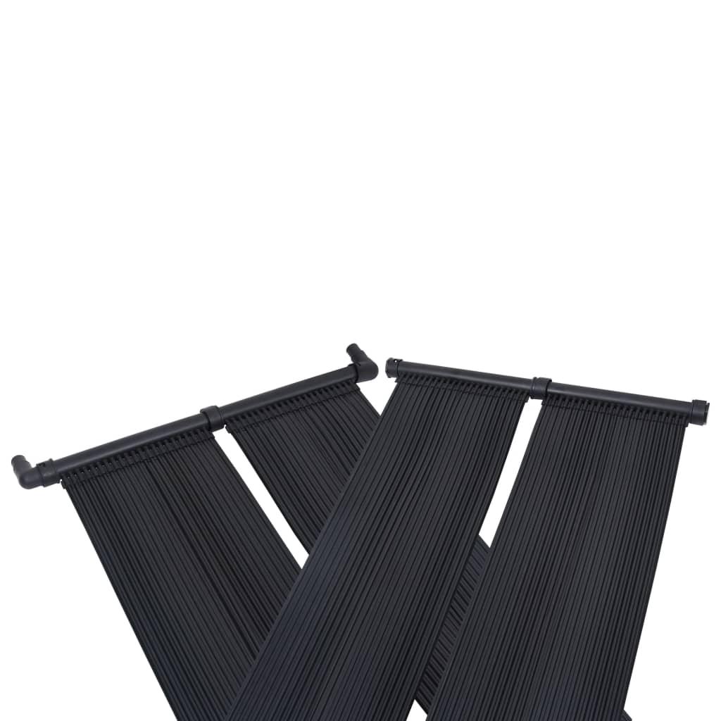 Solární ohřívač bazénu panely 4 ks 80 x 310 cm