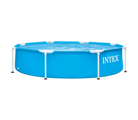 Intex Piscina Metal Frame 244x51 cm