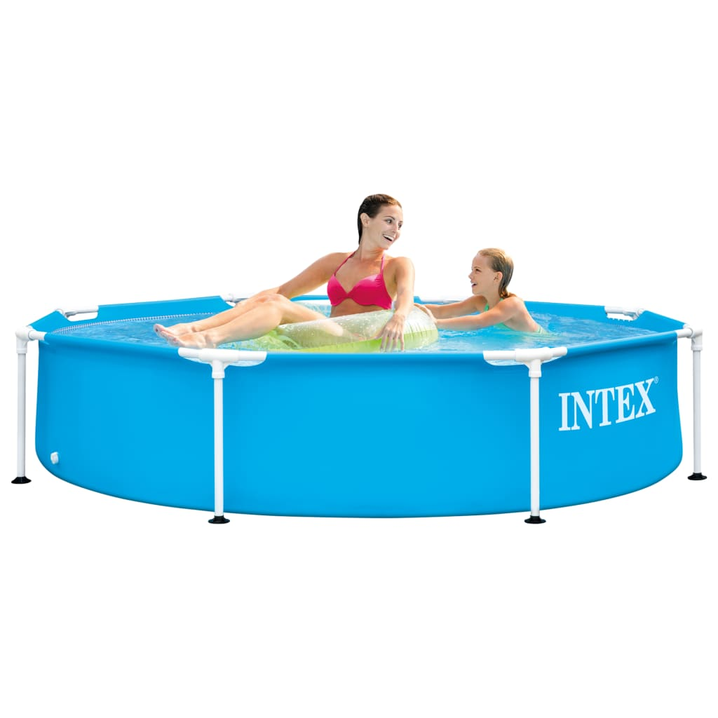 Intex Zwembad Metal Frame 244x51 cm
