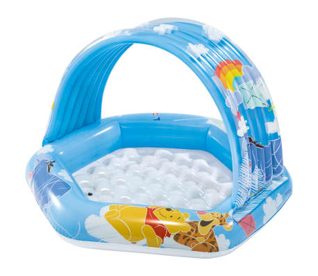 Intex Piscine bébé Winnie l'ourson Multicolore 109x102x71 cm