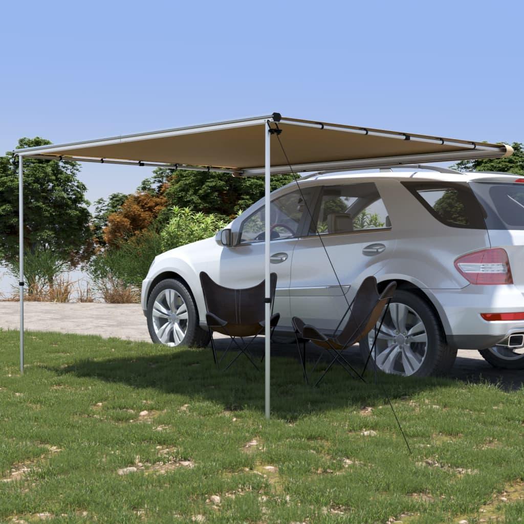 vidaXL Tenda za kamp-prikolicu i karavan 3 x 2,5 x 2,15 m bež