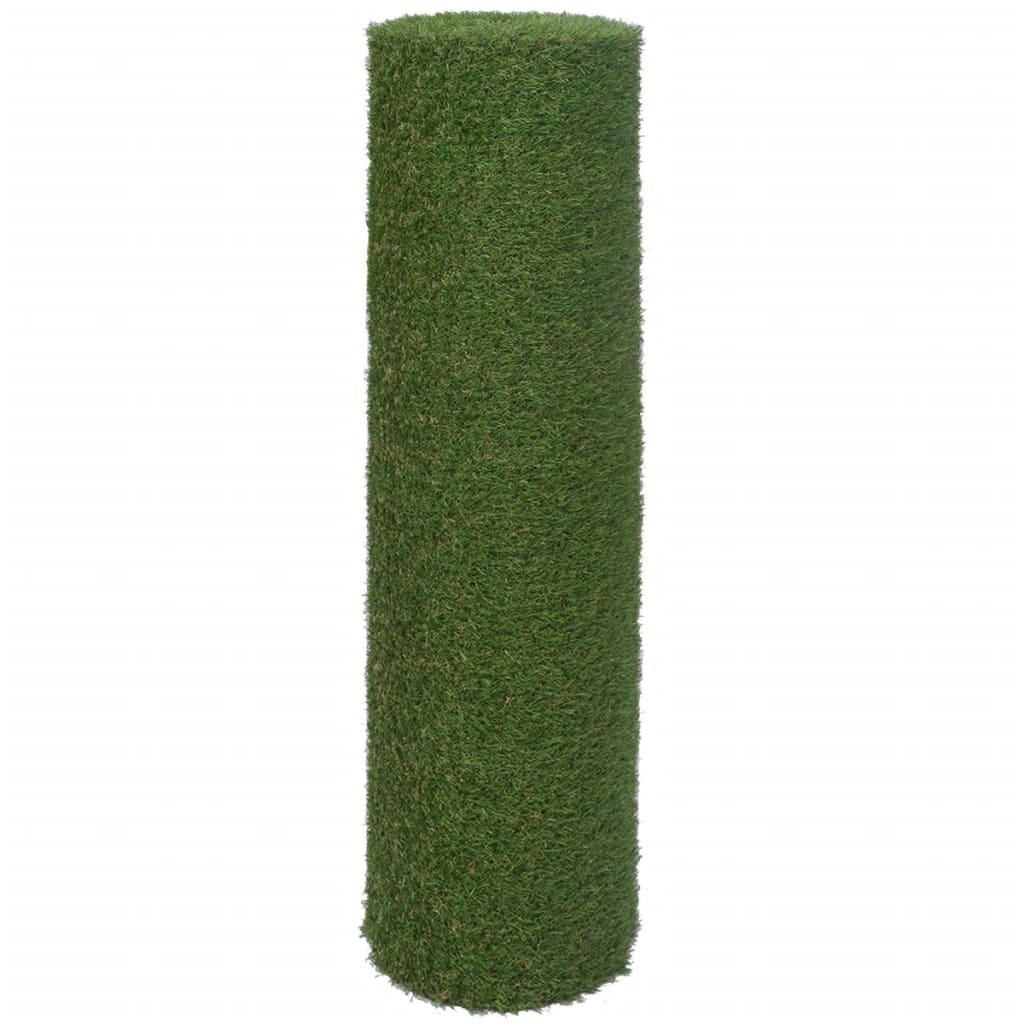 Kunstgras 1x8 m/20 mm groen