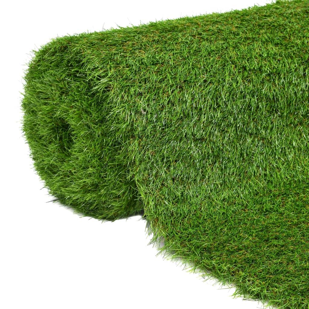 Kunstgras 1x8 m/40 mm groen