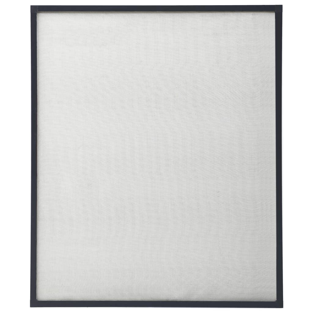 Okenní síť proti hmyzu antracitová 130 x 150 cm