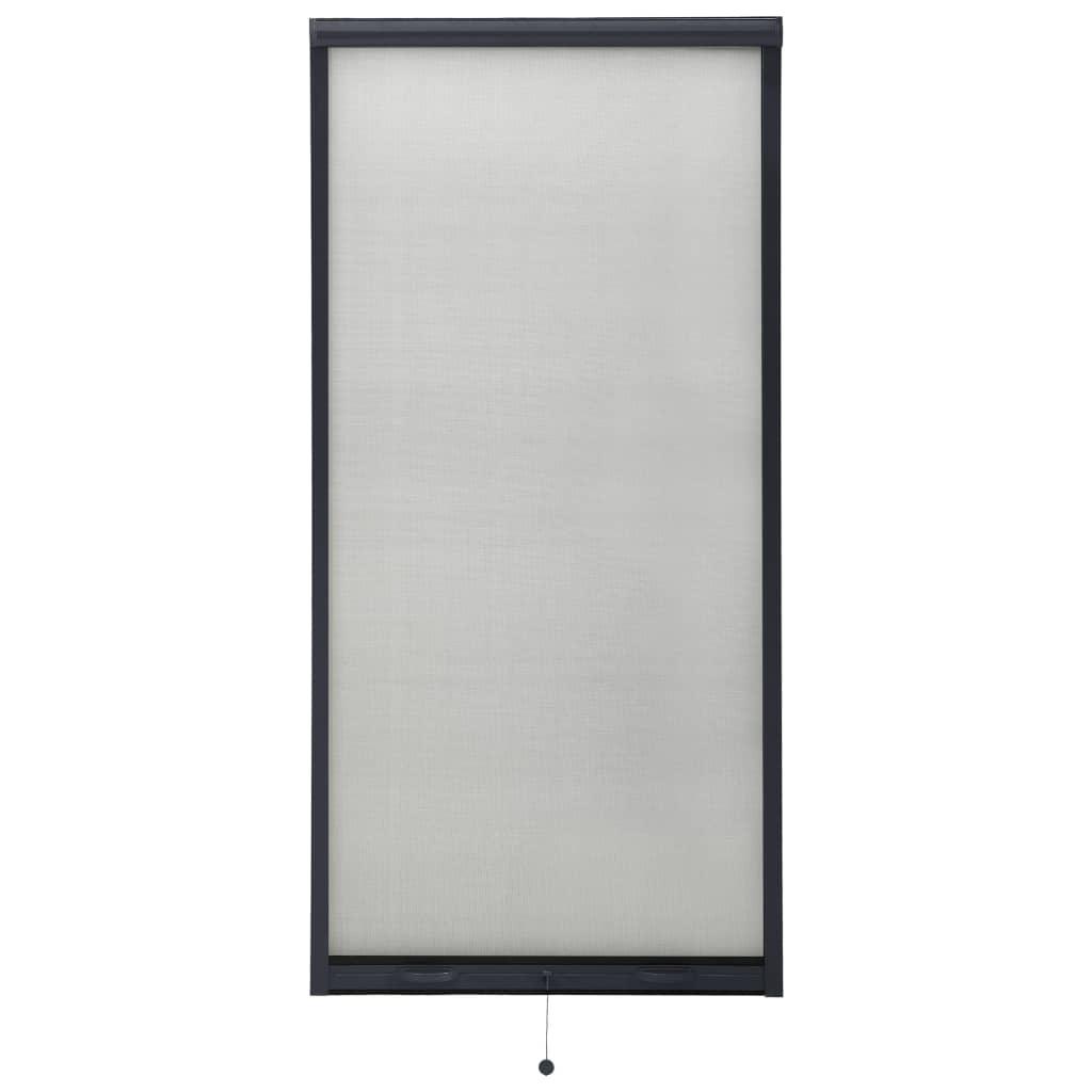 Insektenschutzrollo für Fenster Anthrazit 60×150 cm