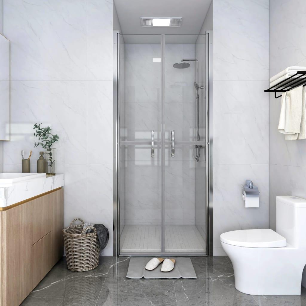 vidaXL Ușă cabină de duș, transparent, 71 x 190 cm, ESG imagine vidaxl.ro