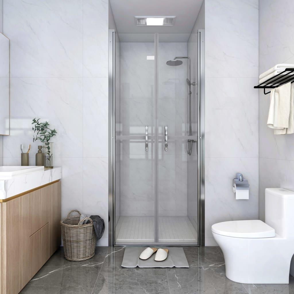 vidaXL Ușă cabină de duș, transparent, 81 x 190 cm, ESG imagine vidaxl.ro