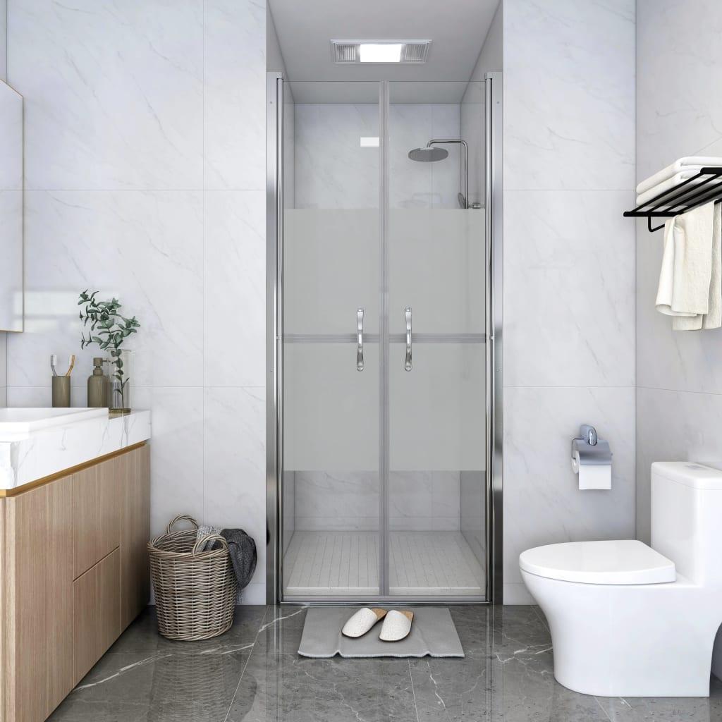 Dušinurga uks, poolmatt, ESG, 96 x 190 cm