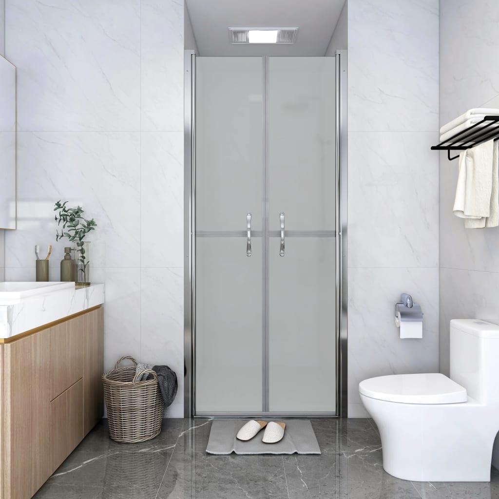 vidaXL Ușă cabină de duș, mat, 81 x 190 cm, ESG imagine vidaxl.ro