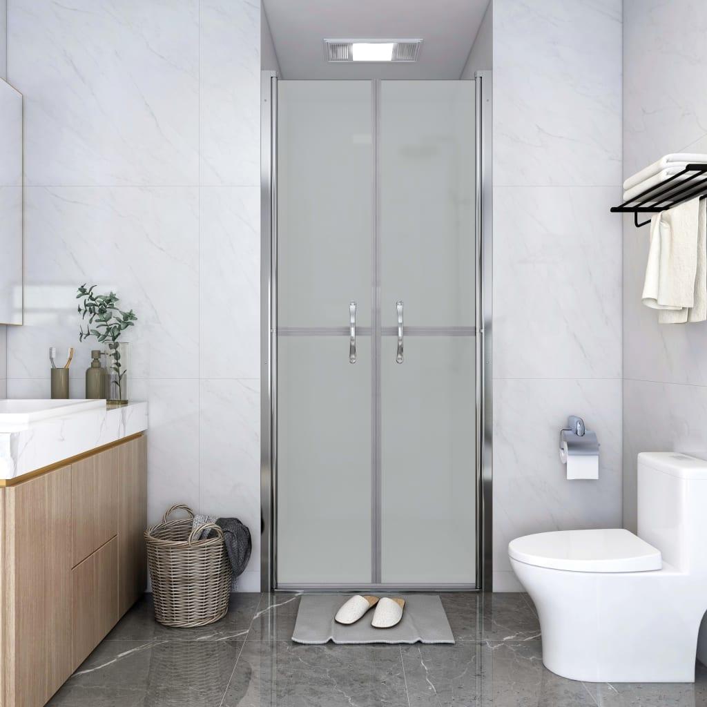 vidaXL Ușă cabină de duș, mat, 91 x 190 cm, ESG poza vidaxl.ro