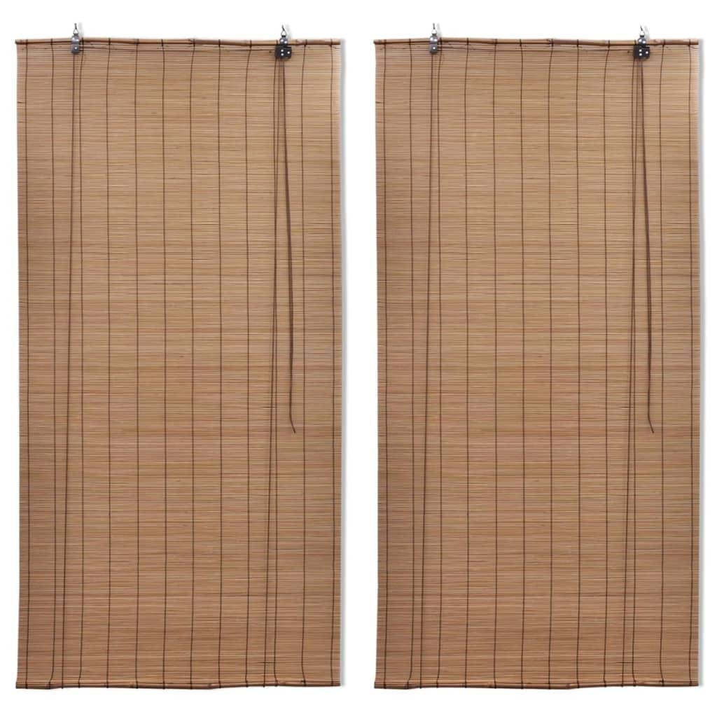 Bambusrulood 2 tk pruun 120 ..
