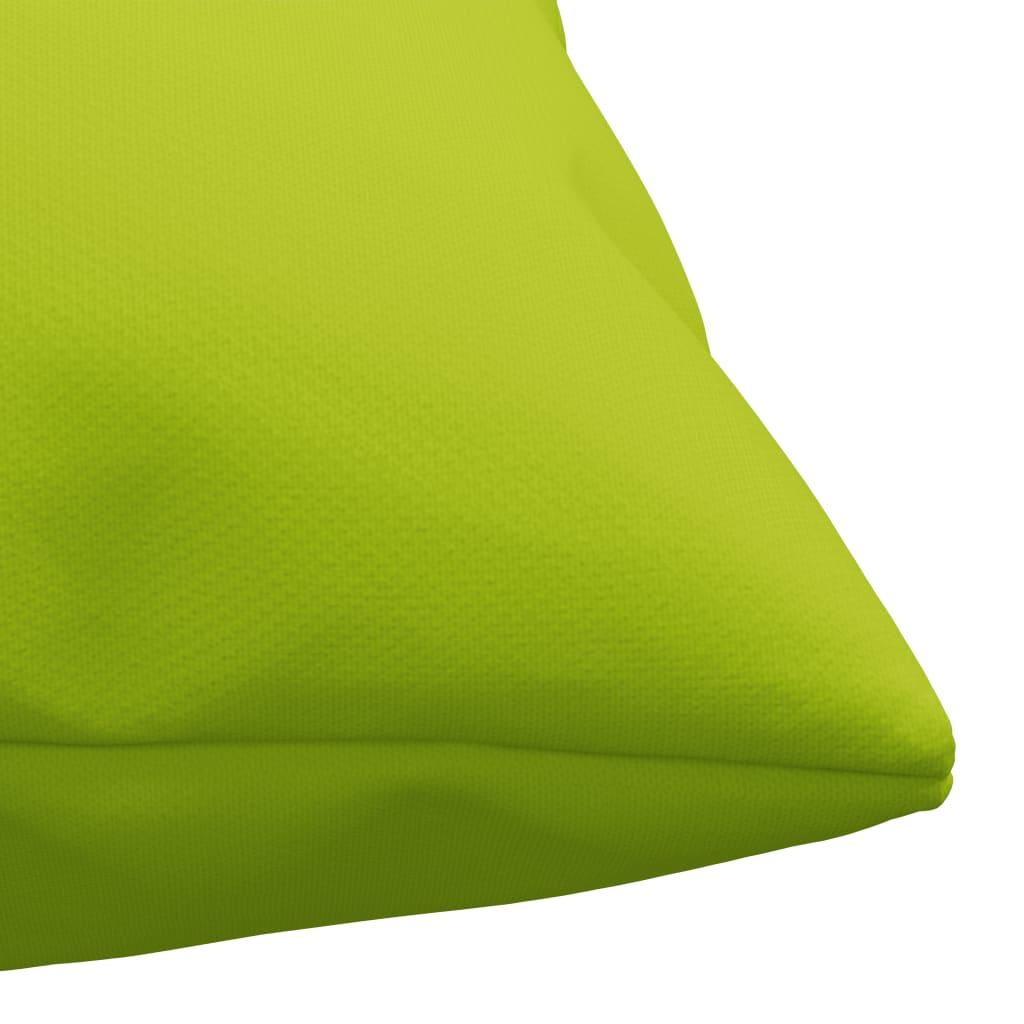 vidaXL Sierkussens 4 st 60x60 cm stof heldergroen