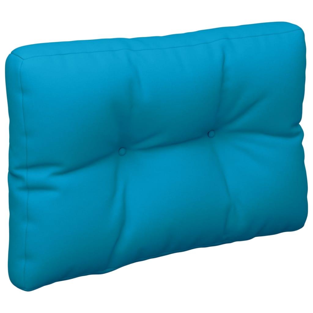 vidaXL Palettensofa-Kissen Blau 60x40x12 cm