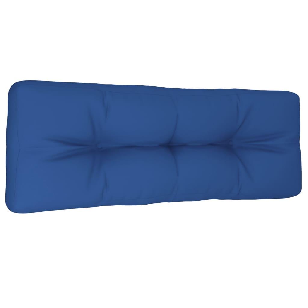 vidaXL Pernă canapea de grădină, albastru regal, 120x40x12 cm, textil vidaxl.ro