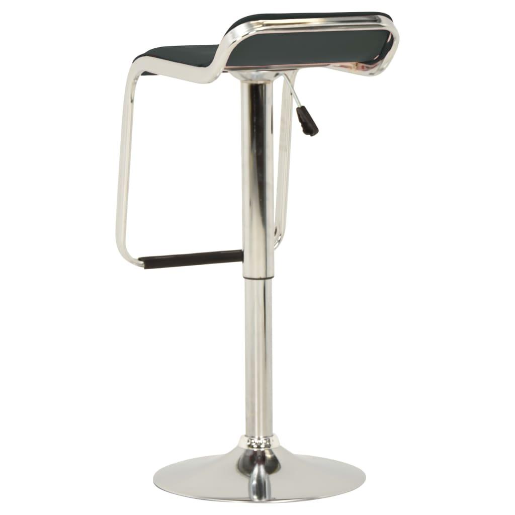 vidaXL Barski stolci od tkanine i savijenog drva 2 kom sivi