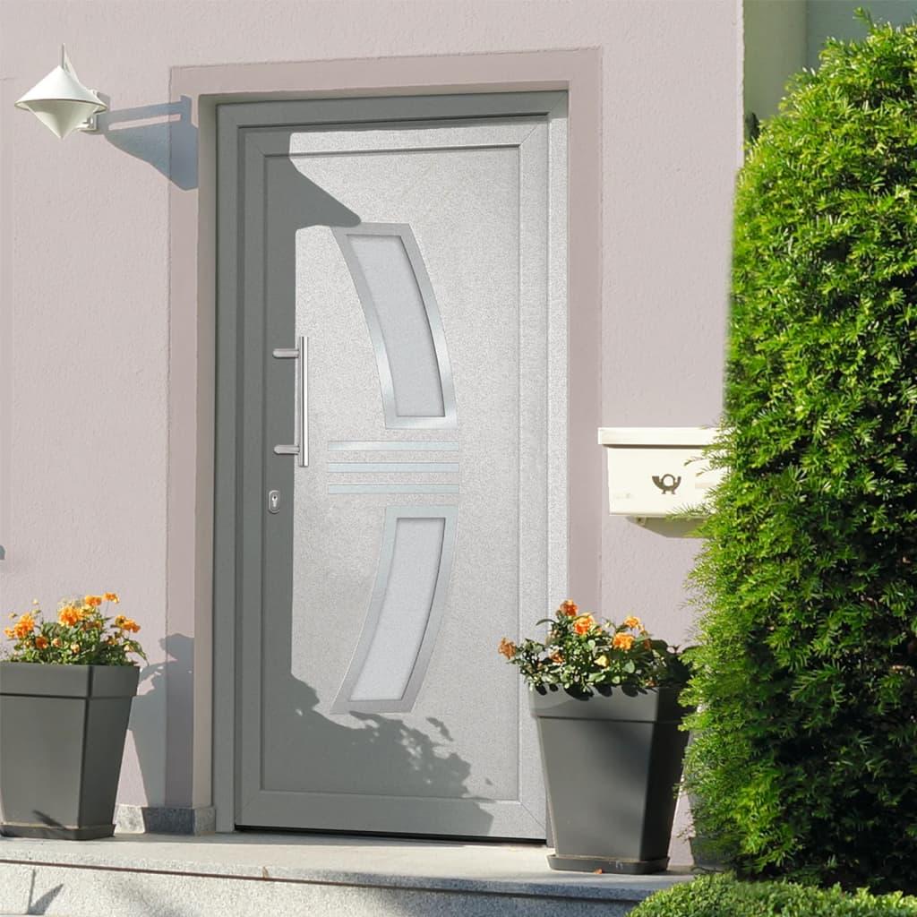 Vchodové dveře bílé 88 x 200 cm