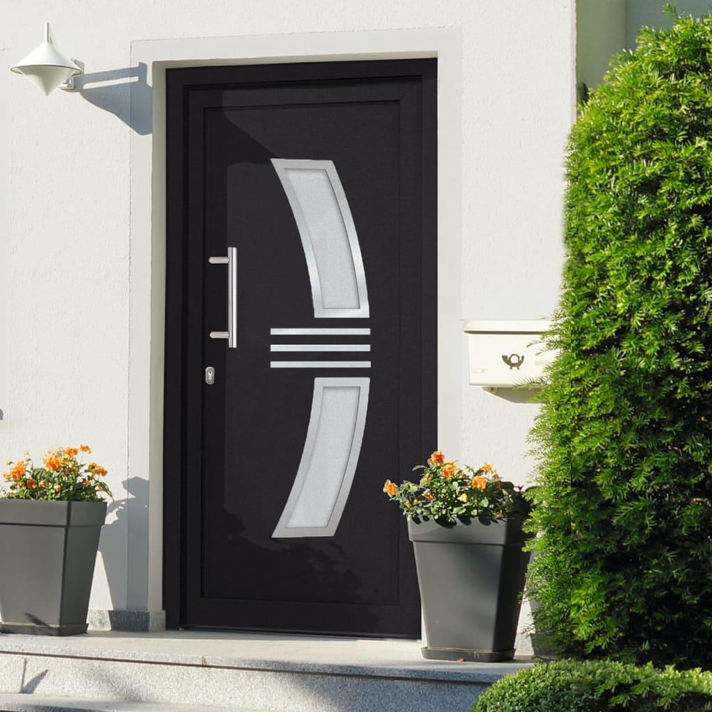 Vchodové dveře antracitové 108 x 200 cm