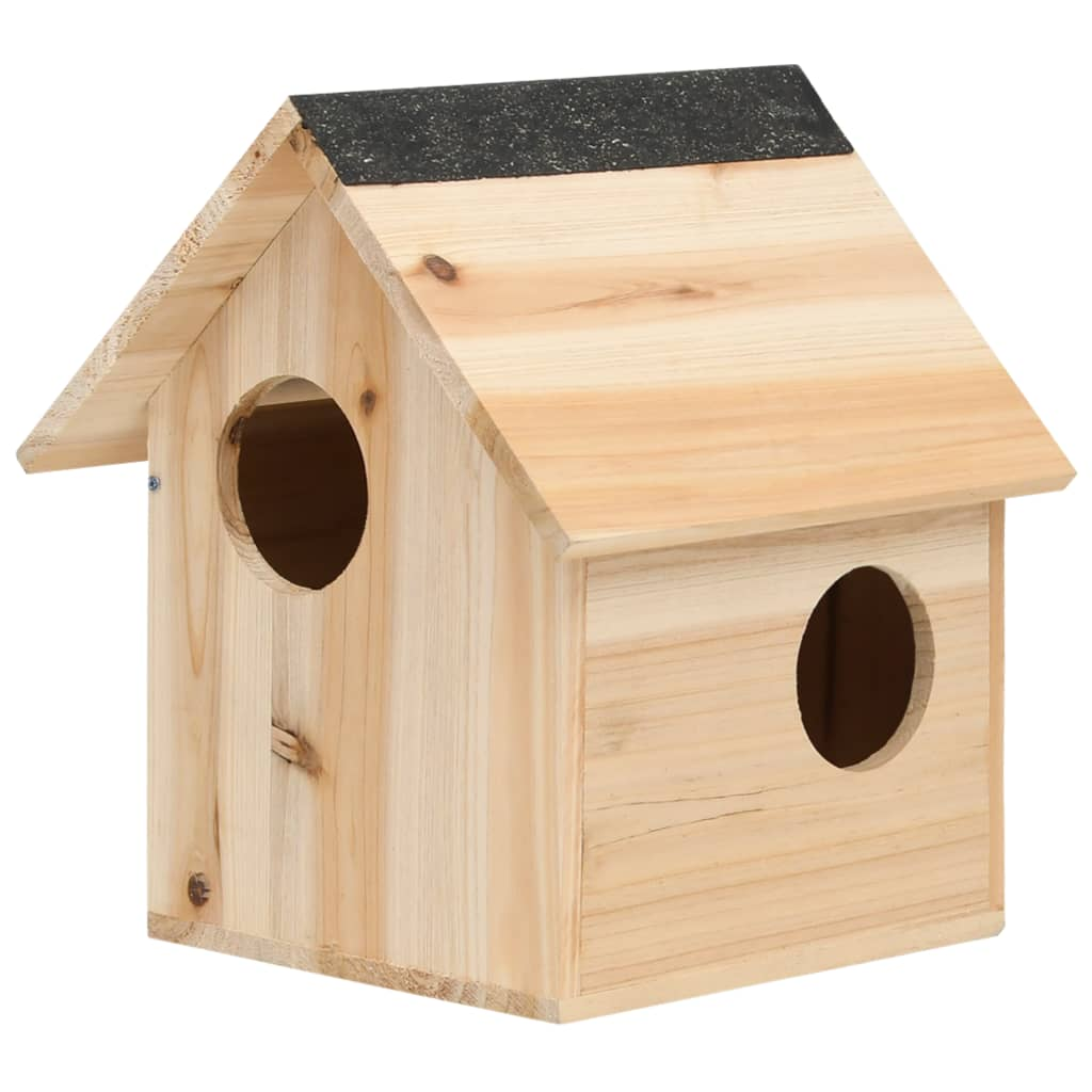 Domeček pro veverky jedlové dřevo 26 x 25 x 29 cm