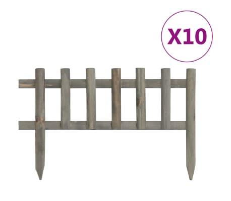 vidaXL Pin Impr/égn/é Rouleau de Bordure 120 cm Vert Jardin Pelouse All/ée Patio