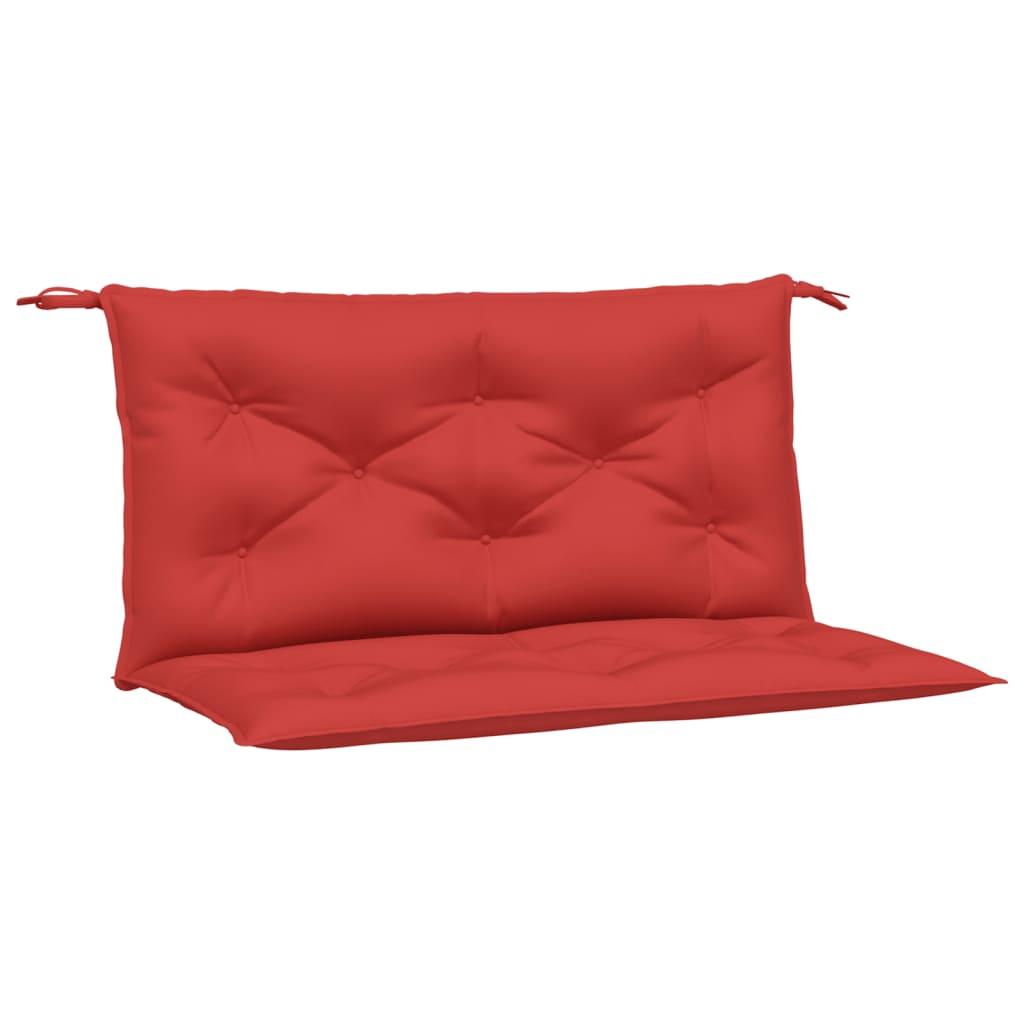 vidaXL Kussen voor schommelstoel 100 cm stof rood