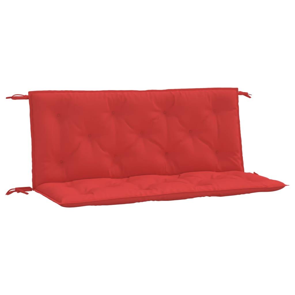 vidaXL Kussen voor schommelstoel 120 cm stof rood