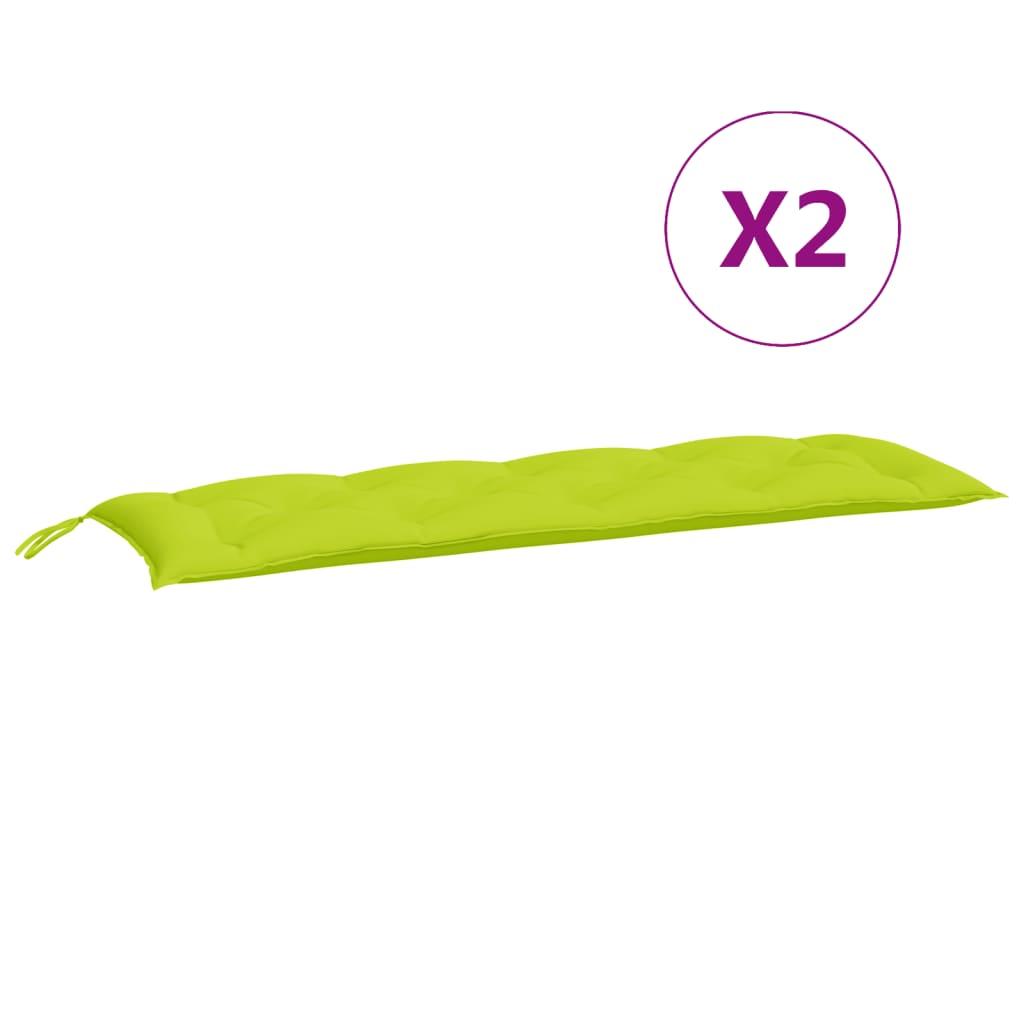 vidaXL hynde til gyngesofa 150 cm stof grøn