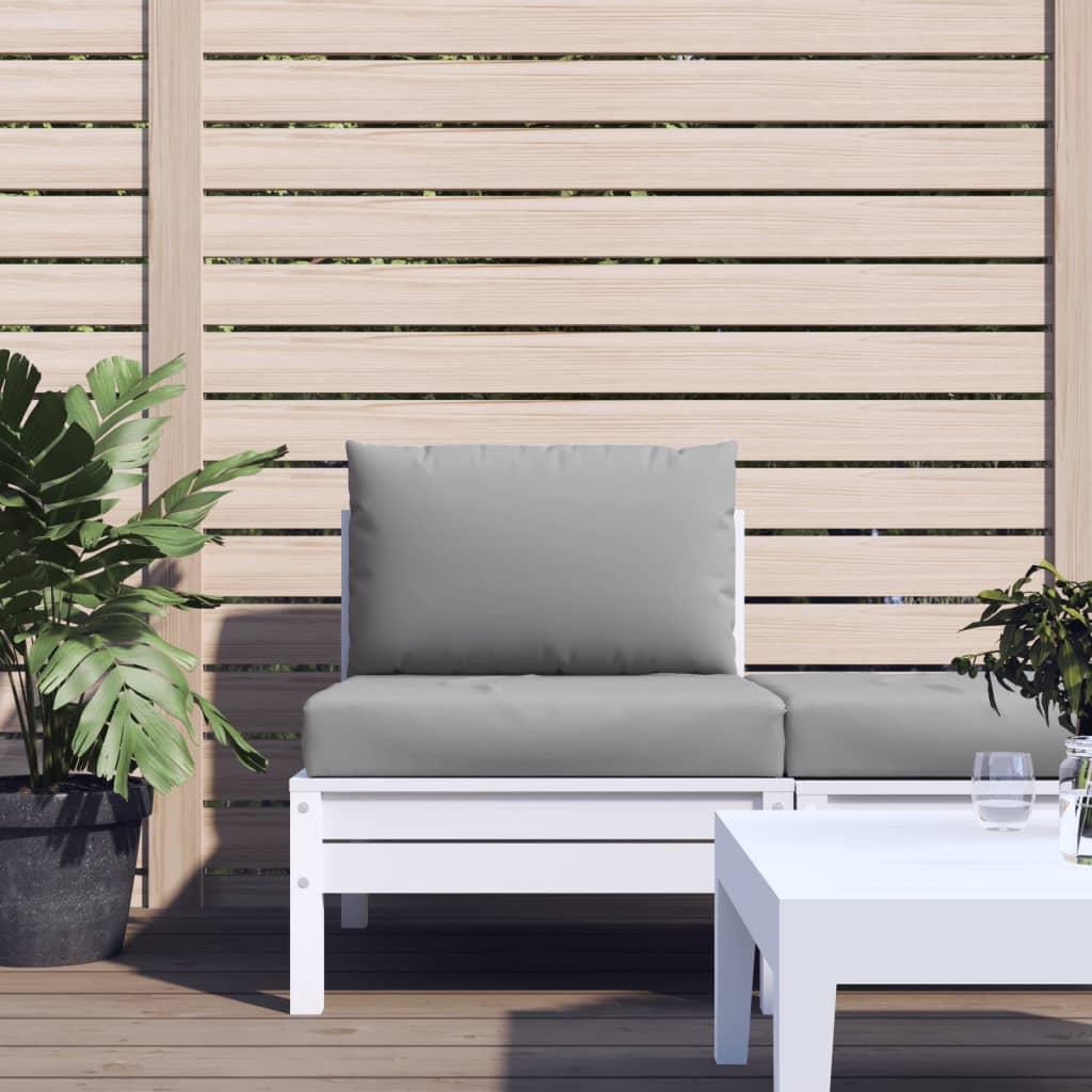 vidaXL Perne pentru canapea din paleți, 2 buc., gri, material textil vidaxl.ro