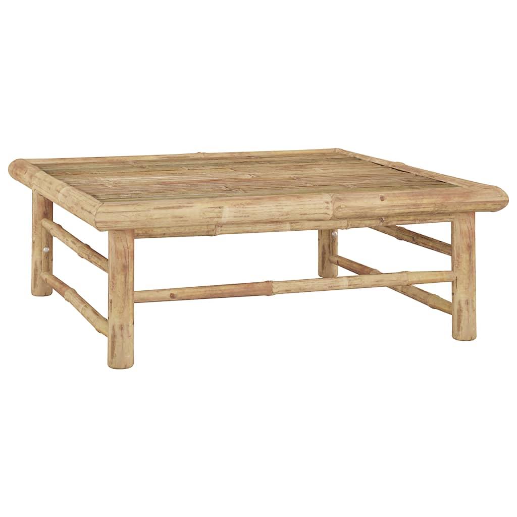 Zahradní stůl 65 x 65 x 30 cm bambus